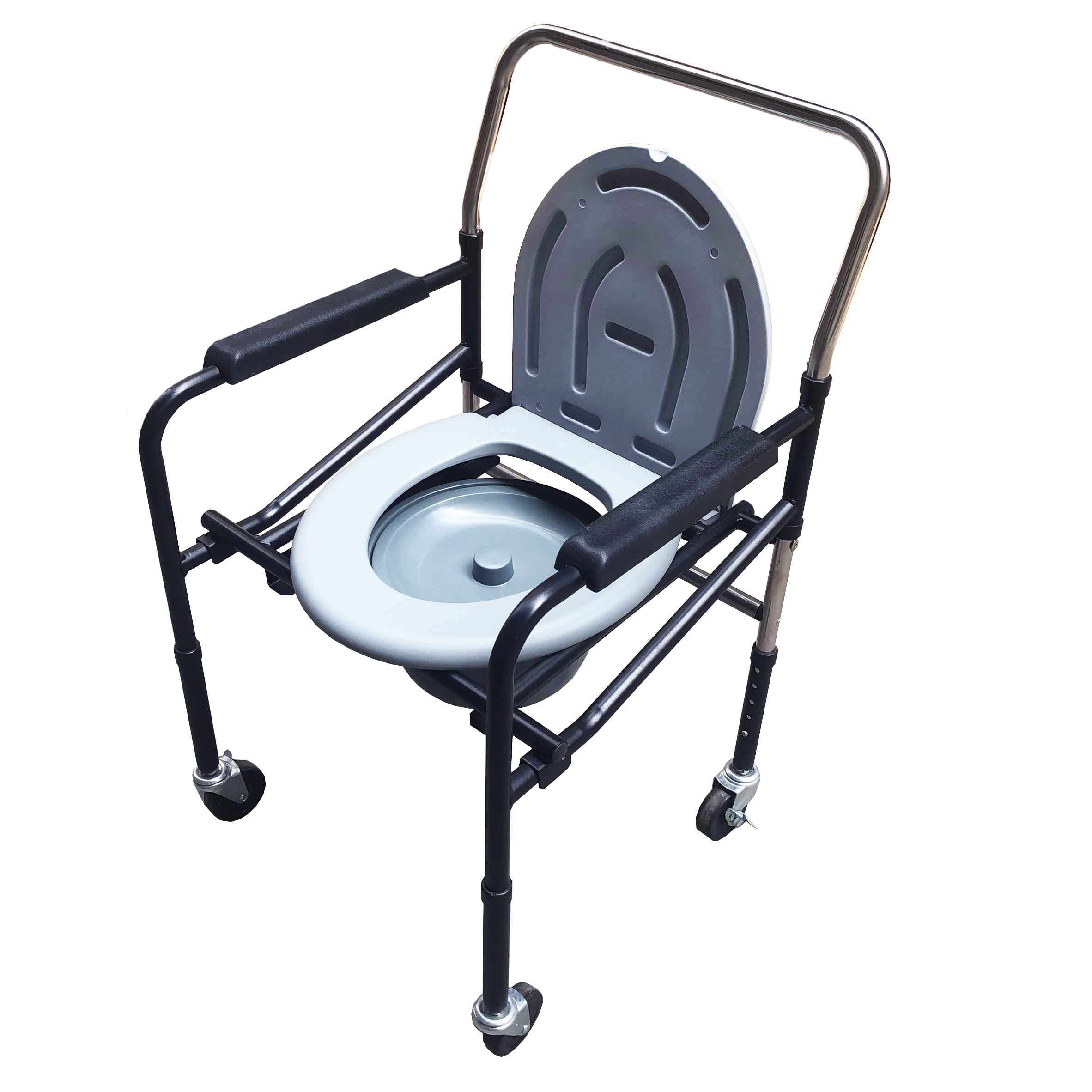Ghế bô vệ sinh có bánh xe