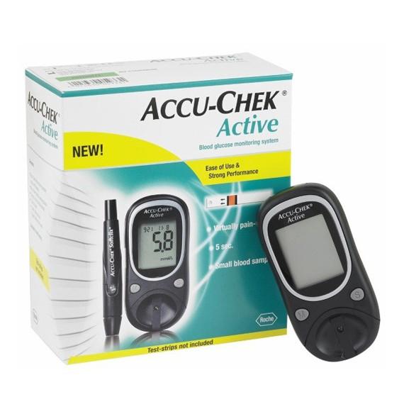 Máy thử đường huyết Accu-check Active Hộp 25 que