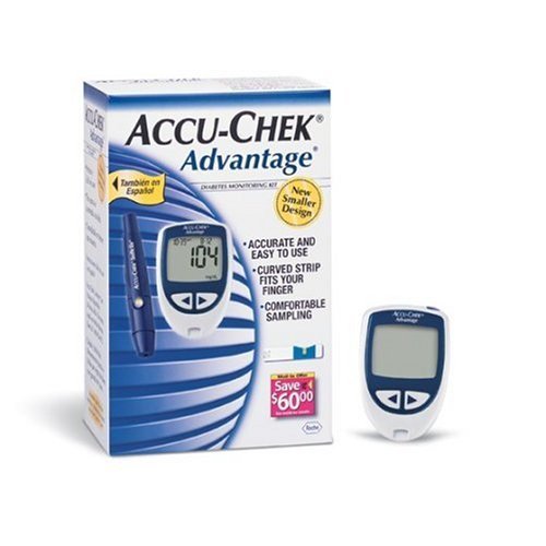 Que thử Đường huyết Accu-check Advantage
